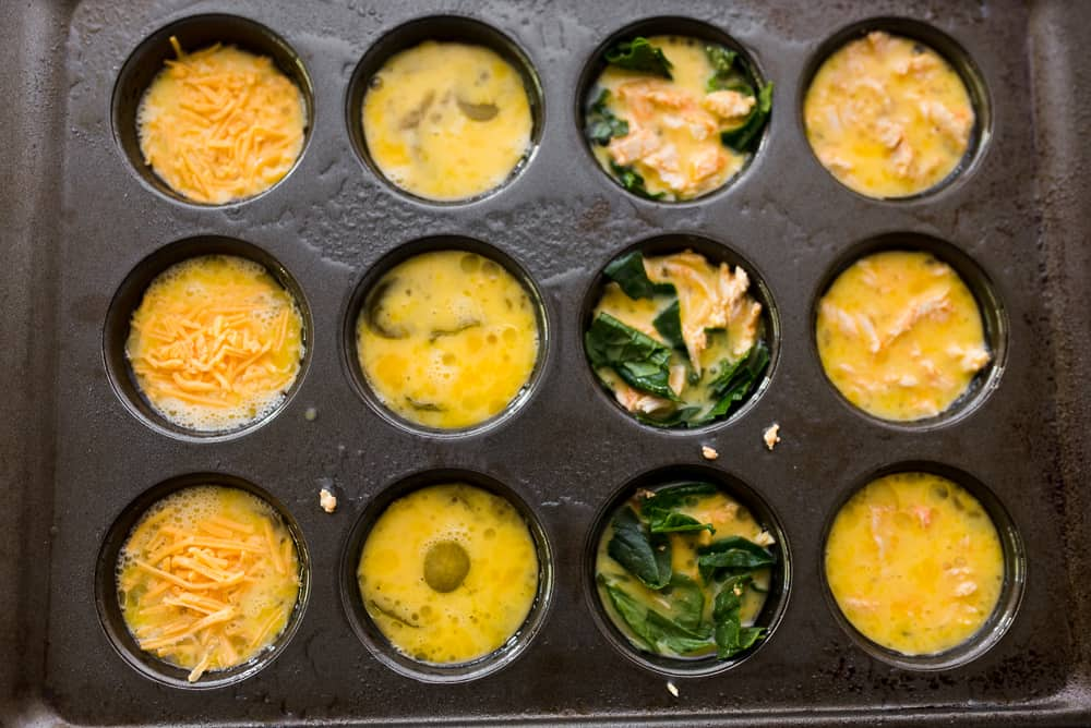buffalo chicken egg muffins meal prep