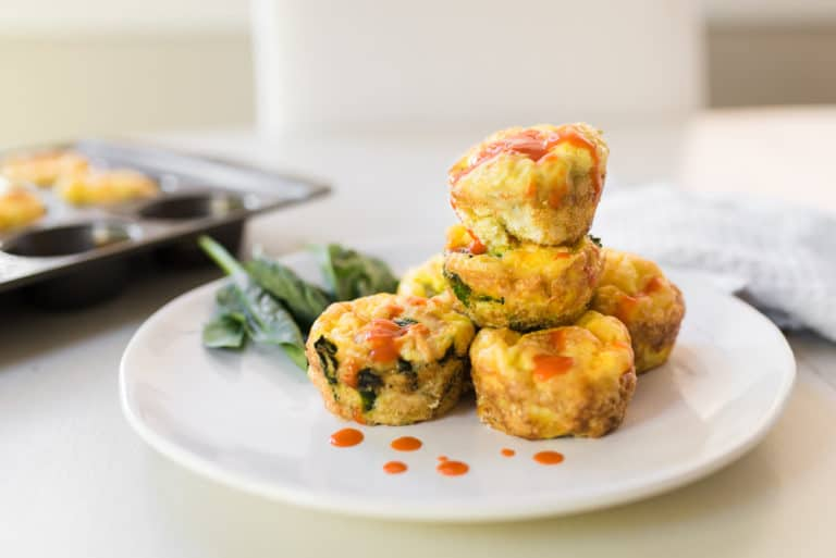 Buffalo Chicken Egg Muffins | Whole30 & Paleo