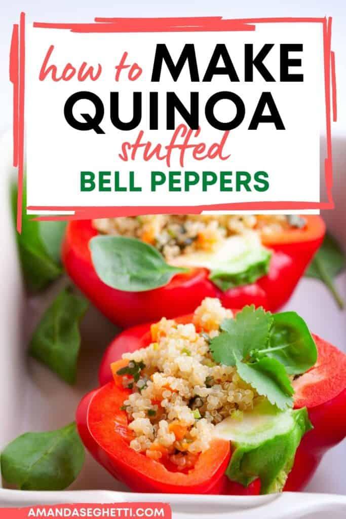Easy Quinoa Stuffed Bell Peppers Recipe
