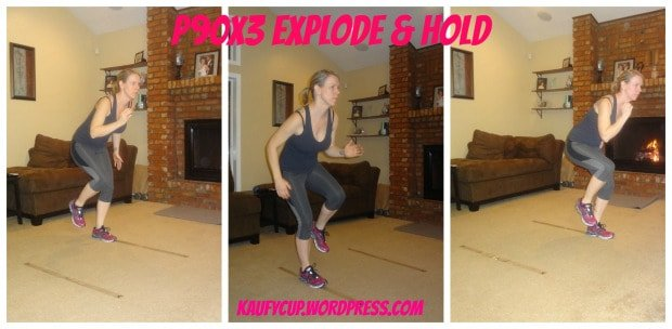 P90X3 Agility X Explode and Hold