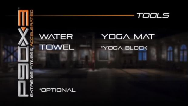 P90x3 yoga materials