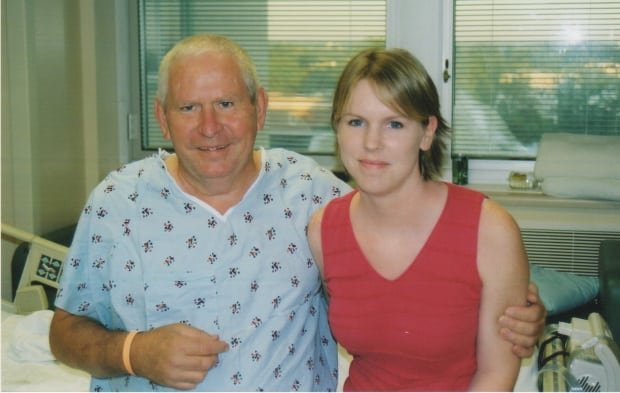 Amanda Seghetti and her dad