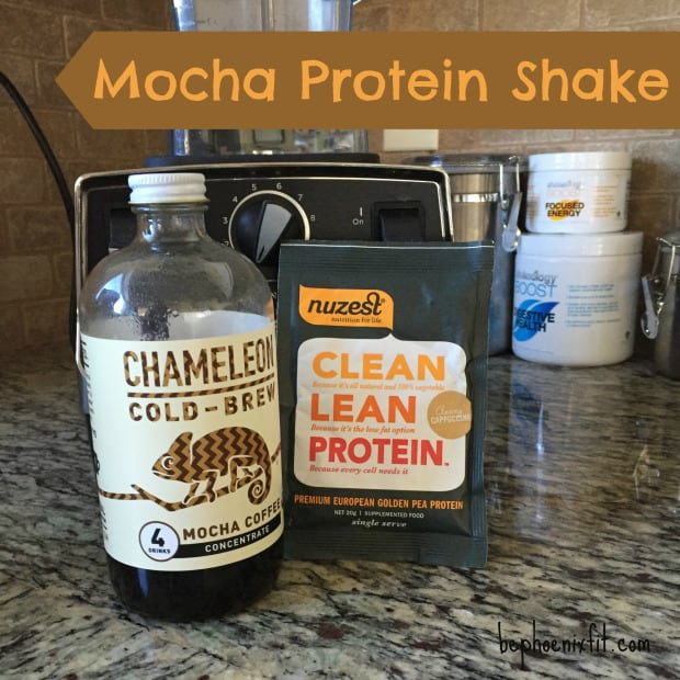 chameleon cold brew protein shake