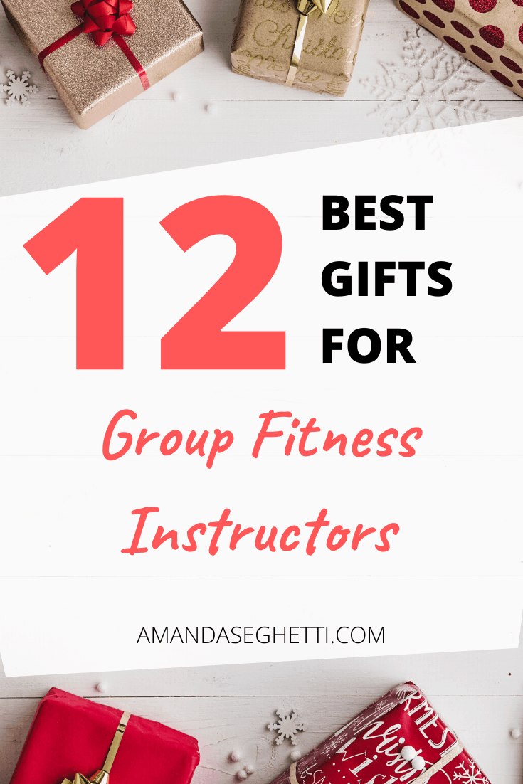 Holiday Gift Guide for Group Fitness Instructors Pin