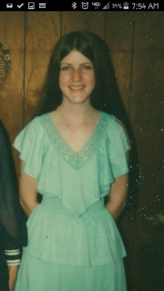 Not sure what year, but wasn't she beautiful? <3