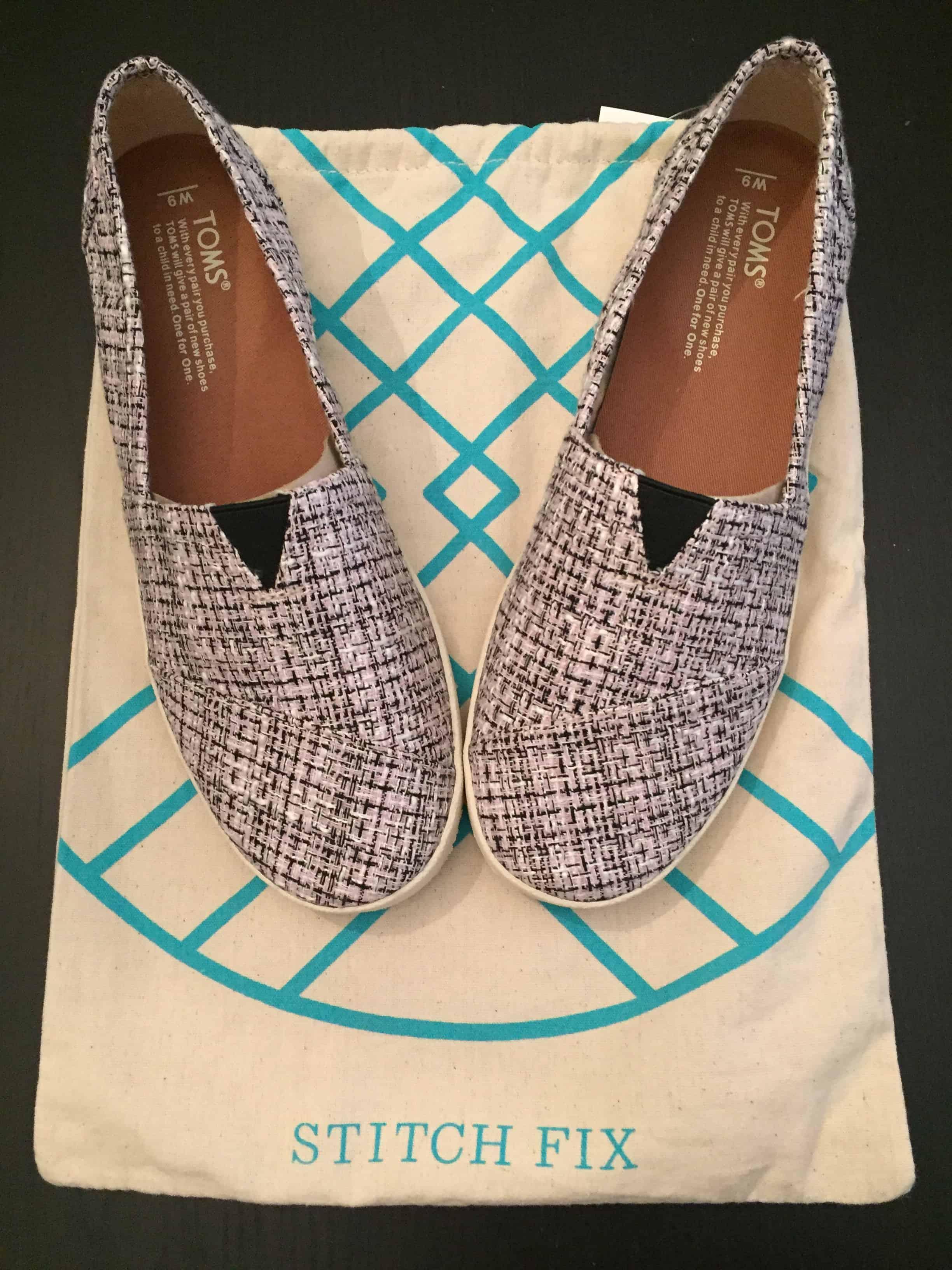 Stitch Fix Review Toms shoes