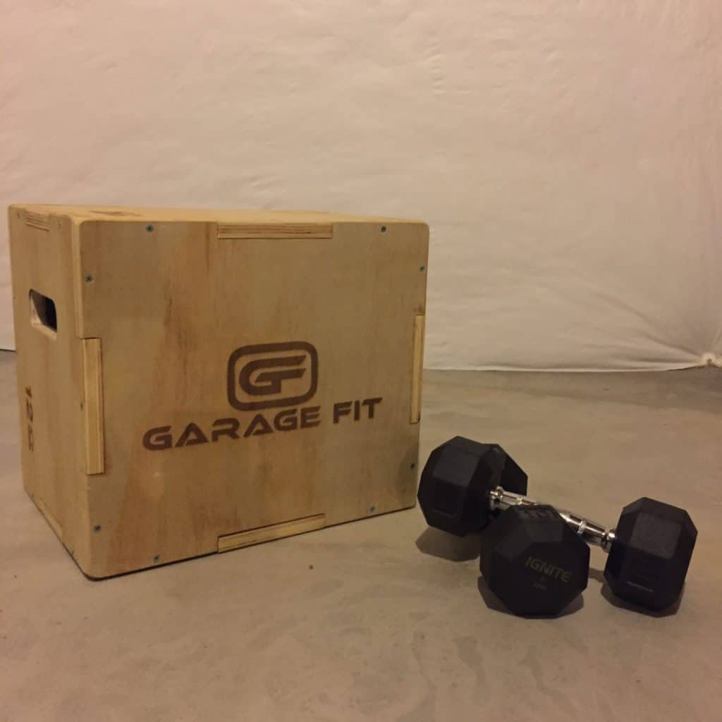 Garage Fit wooden plyo box