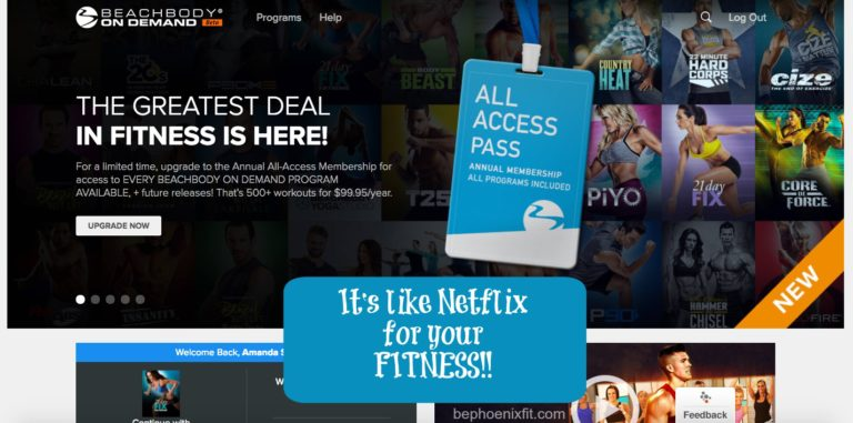 All Access Beachbody on Demand is HERE!!