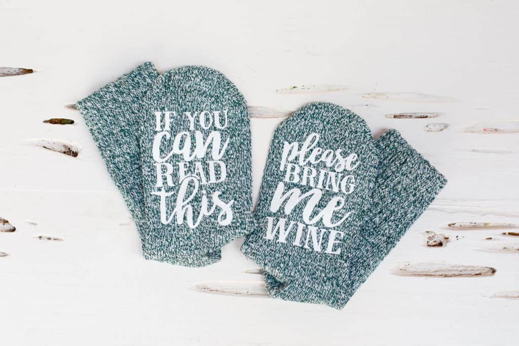 wine socks small shop gifts for moms