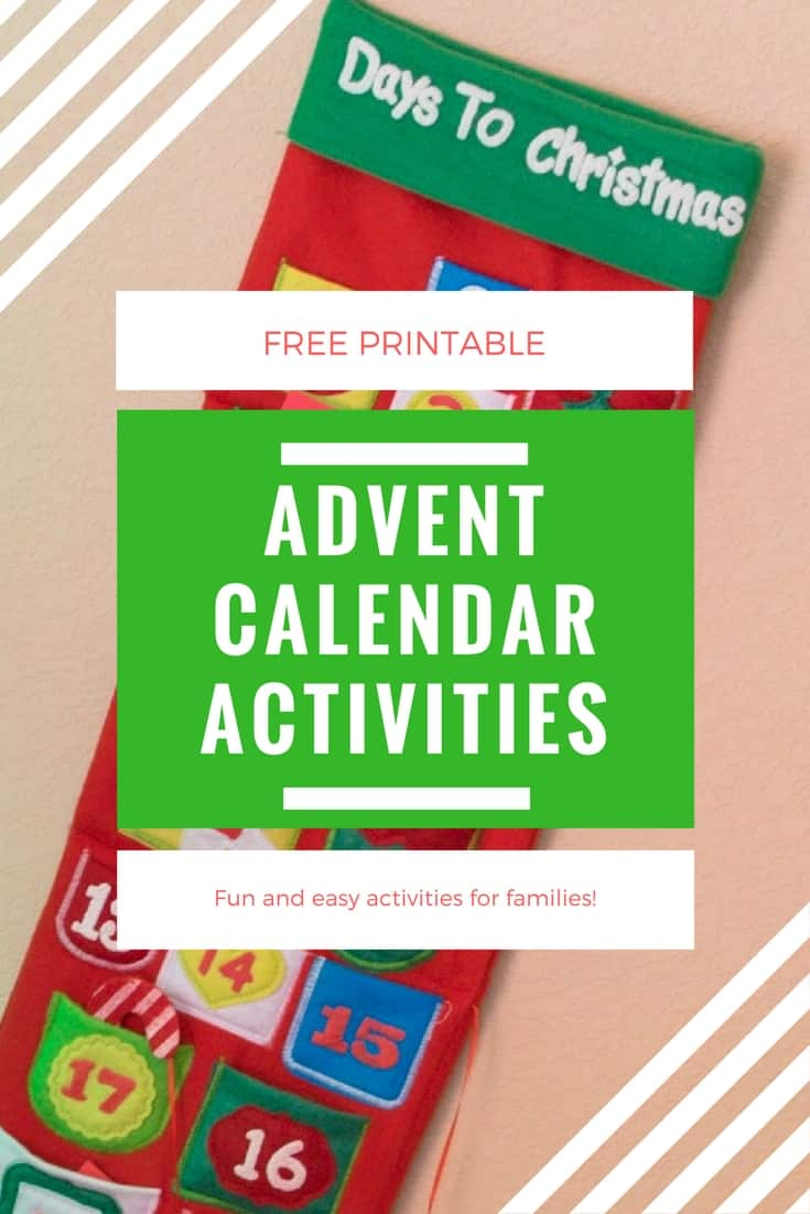 Christmas Advent Calendar Activities