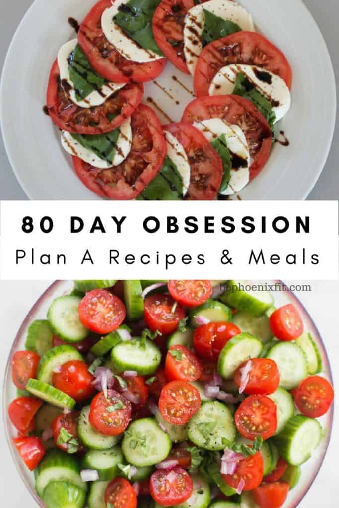 80 day obsession meal plan for plan A