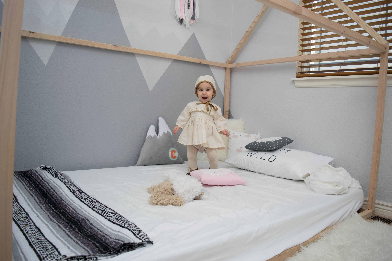 mountain nursery theme kids bedroom