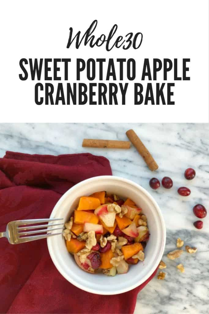 Colorado lifestyle blogger, Amanda Seghetti, shares a Baked Sweet Potato Apple Cranberry recipe! Check it out now to see the delicious recipe!