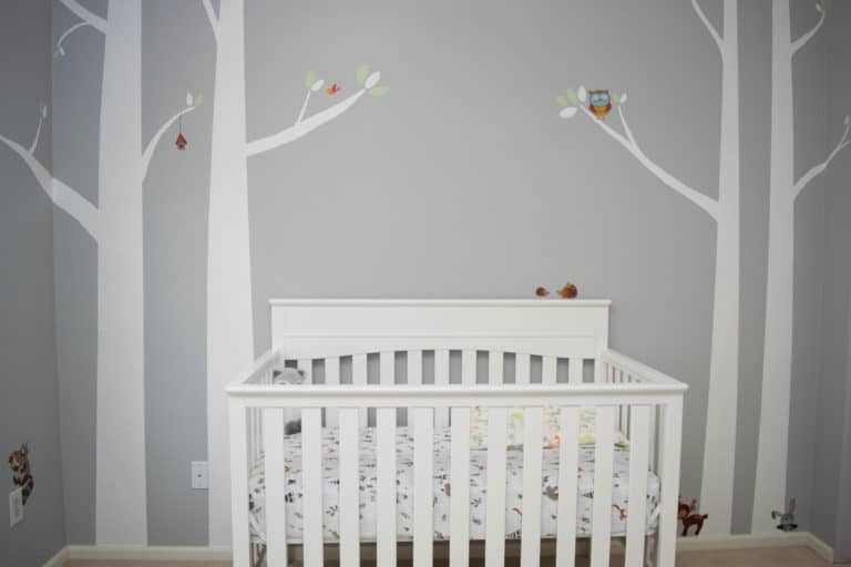 DIY Woodland Baby Nursery