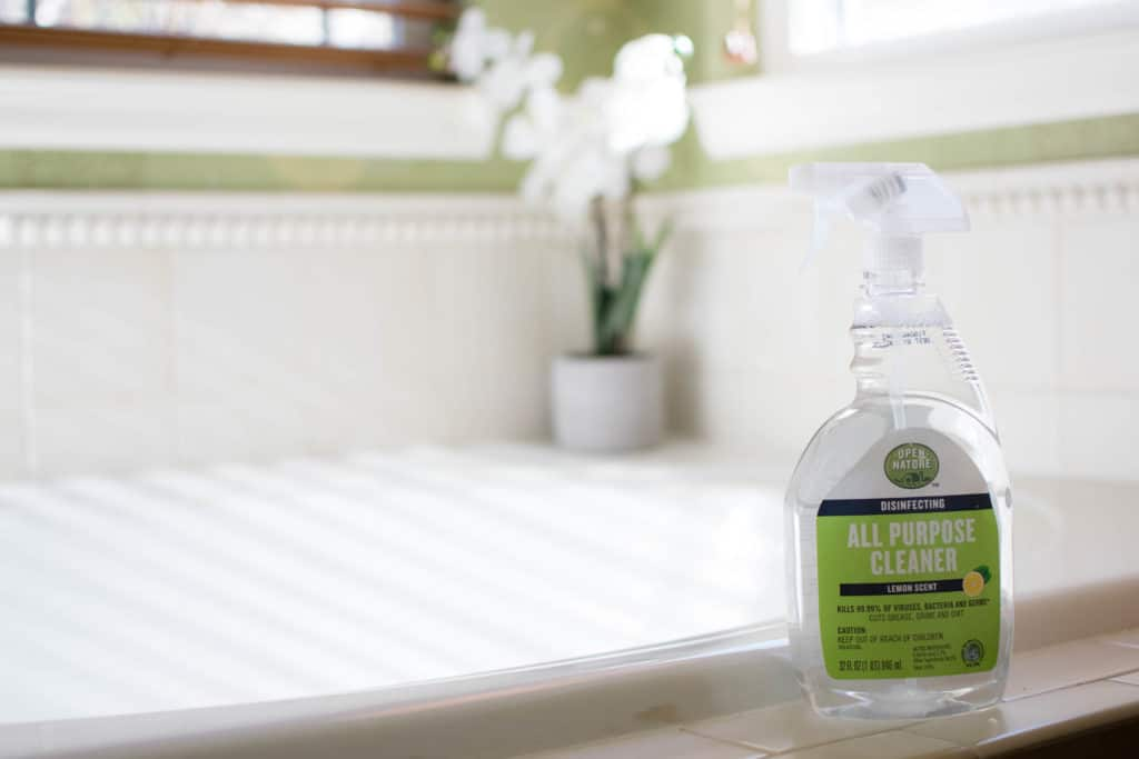 momblog open nature spring cleaning products
