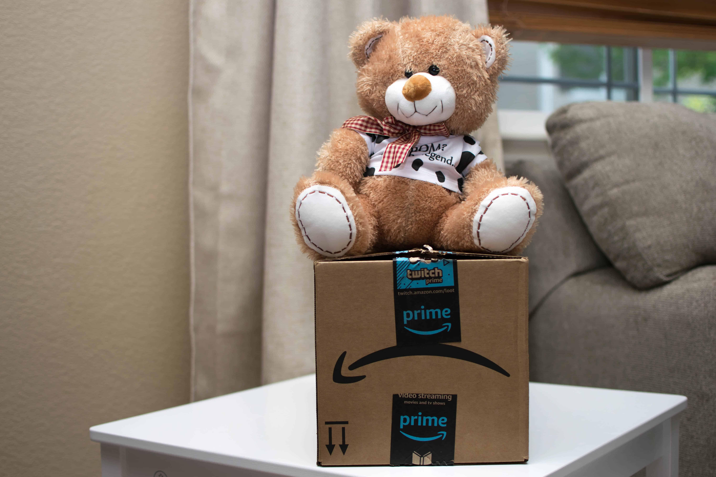 promposal bear on amazon prime box