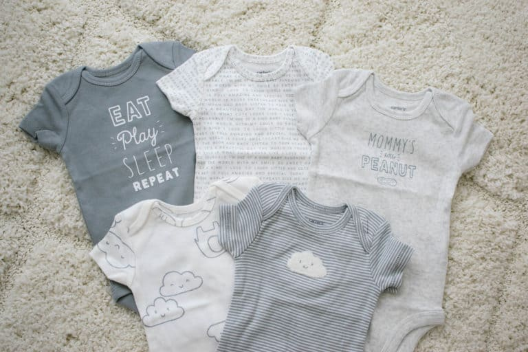 Stocking up with Carter's Little Baby Basics