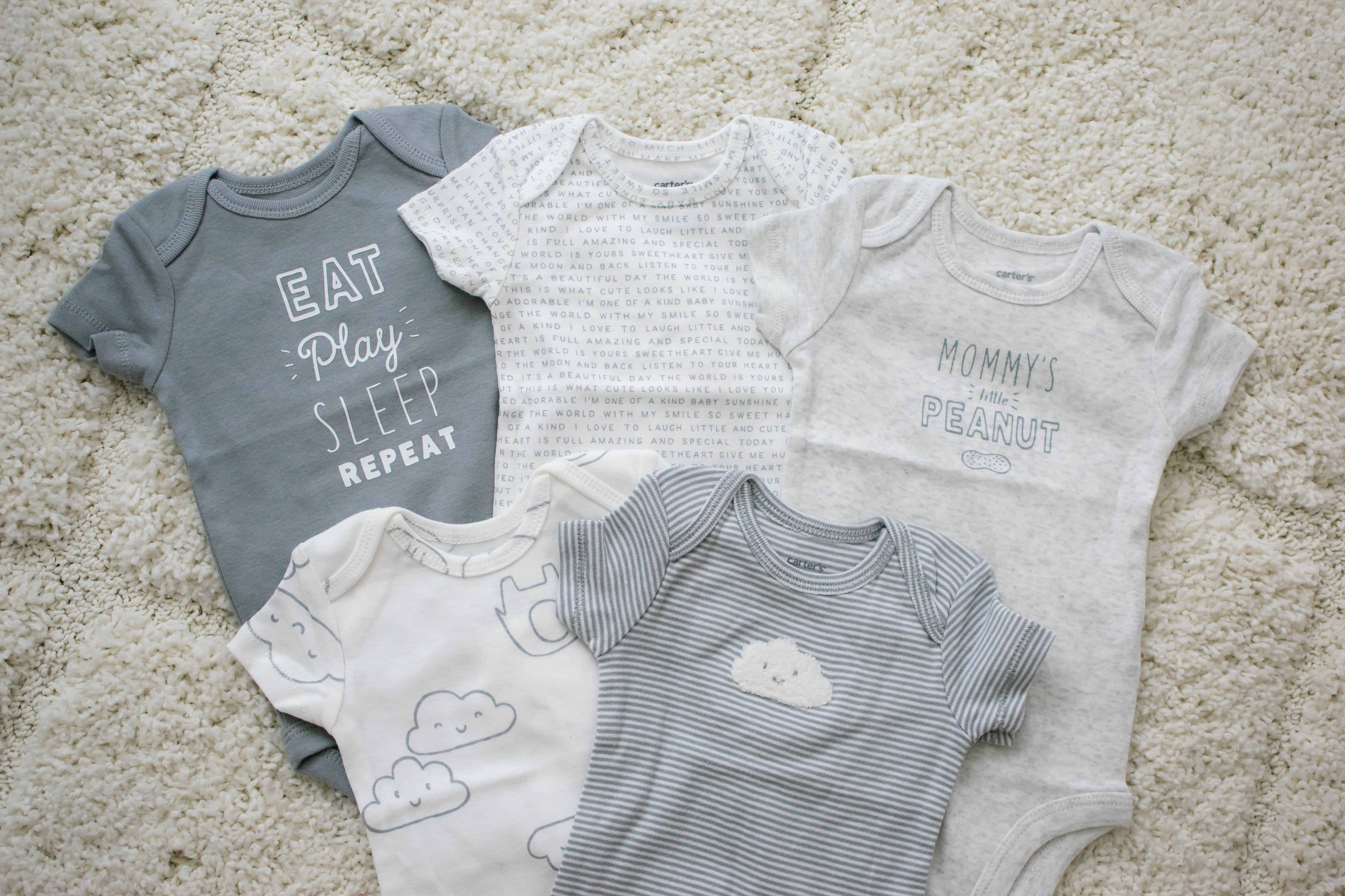 Carter's little baby basics newborn clothes