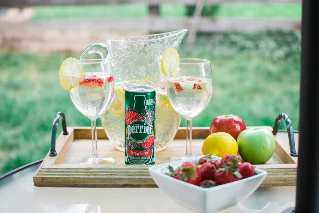 Perrier Strawberry Sangria