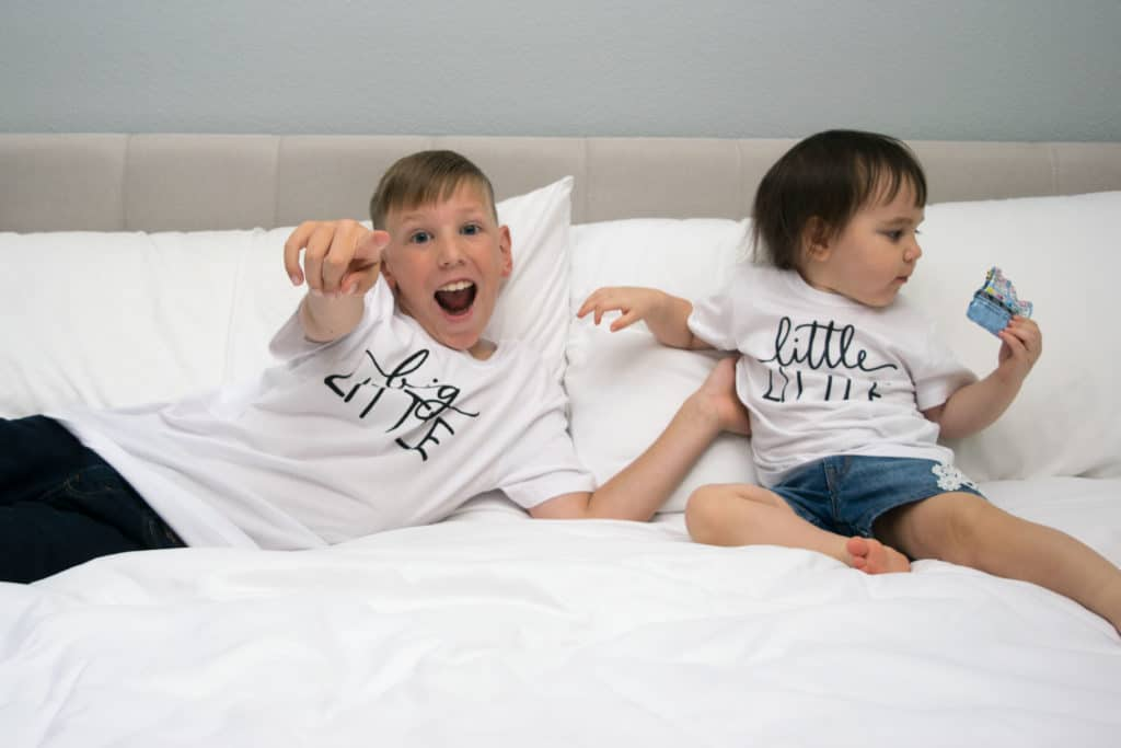 little faces apparel sibling shirts