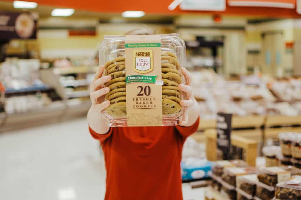 target toll house cookies