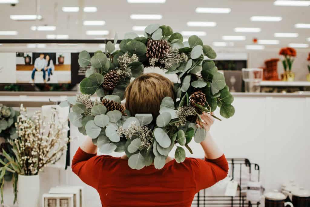 hearth and hand wreath