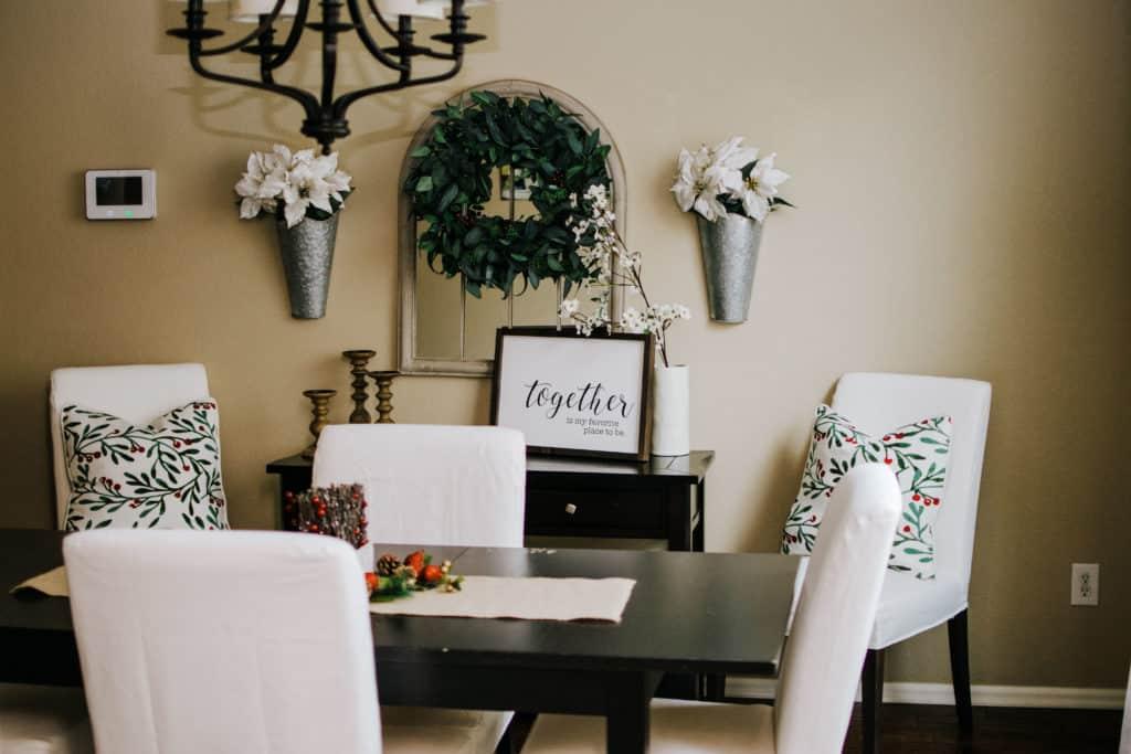 interior decorator dining room modern farmhouse decor