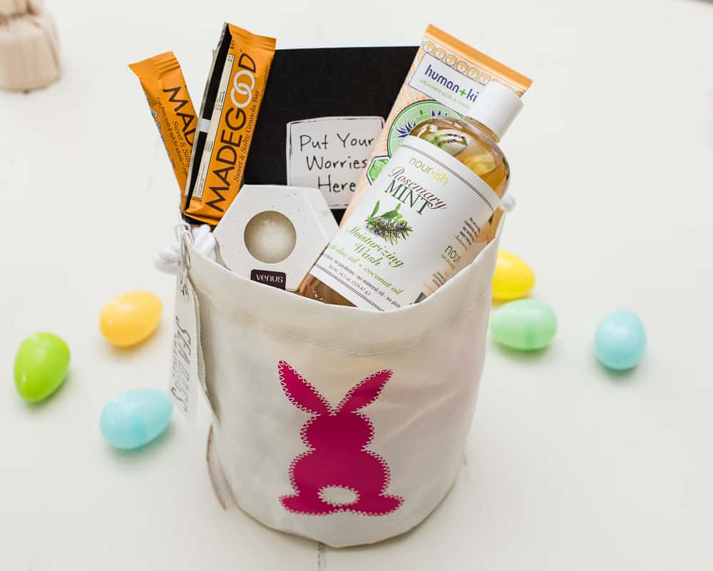 Easter Basket for teen girl ecofriendly