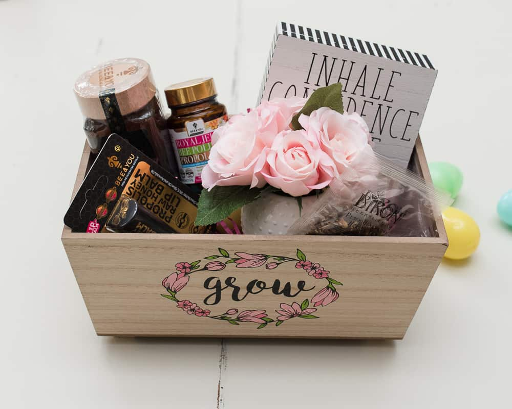 Easter Basket for teen girl or mom self care