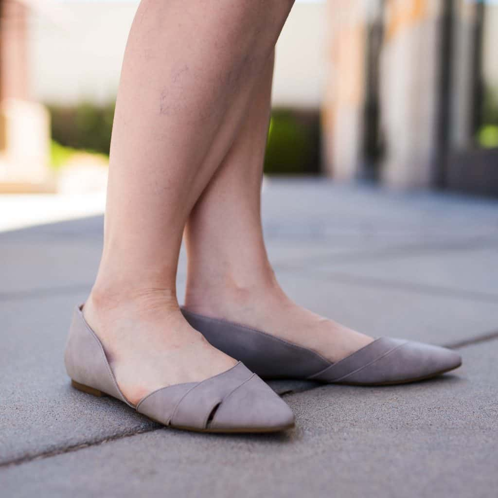 gray suede flats from stitch fix may 2019 f