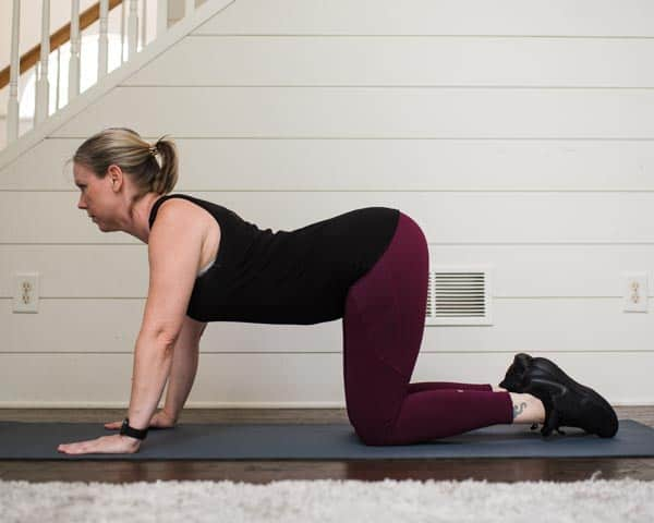 cat cow exercise for improved posture