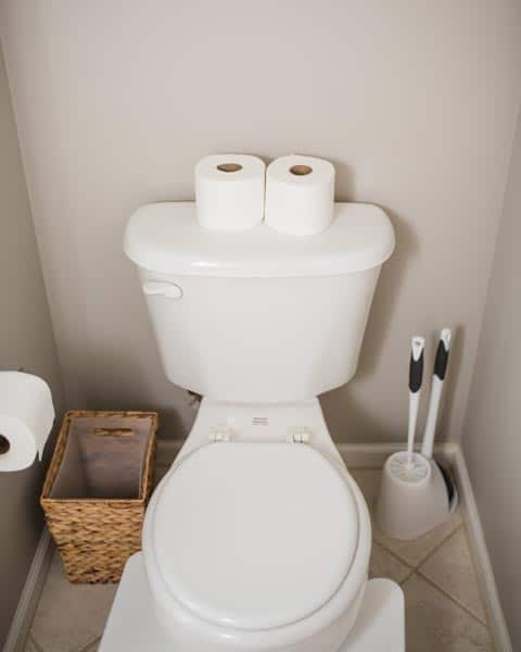 toilet room decor