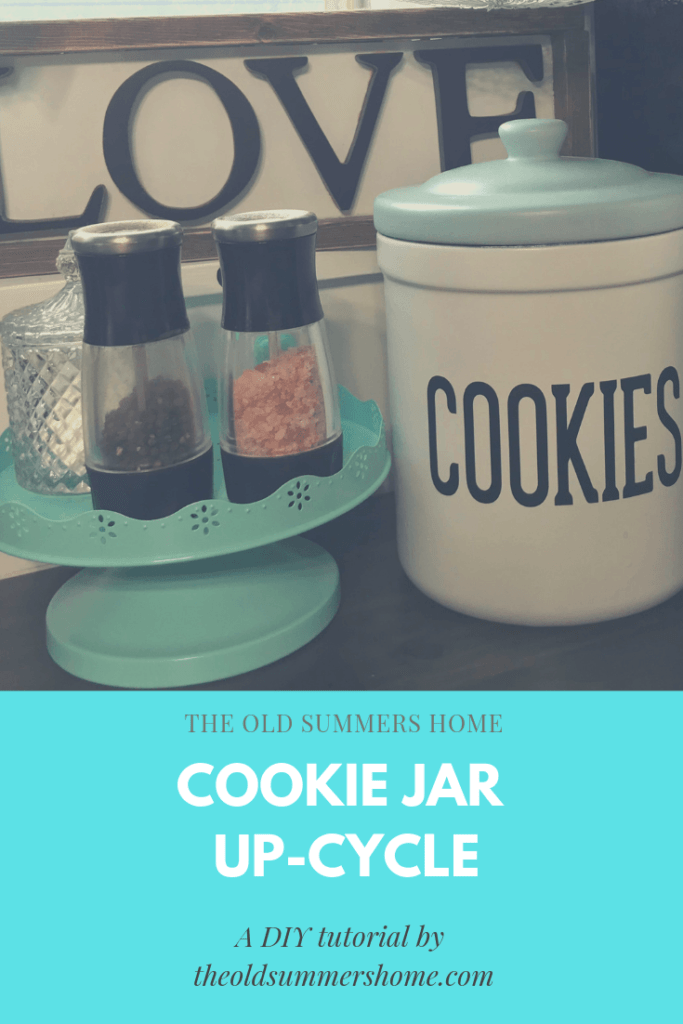 Farmhouse Cookie Jar – a Quick and Easy DIY Project