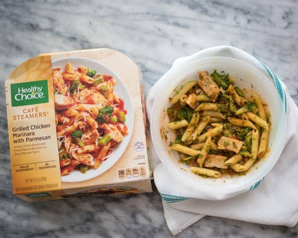 lifestyle blogger amanda seghetti shares easy meals for moms like this healthy choice pasta bowl