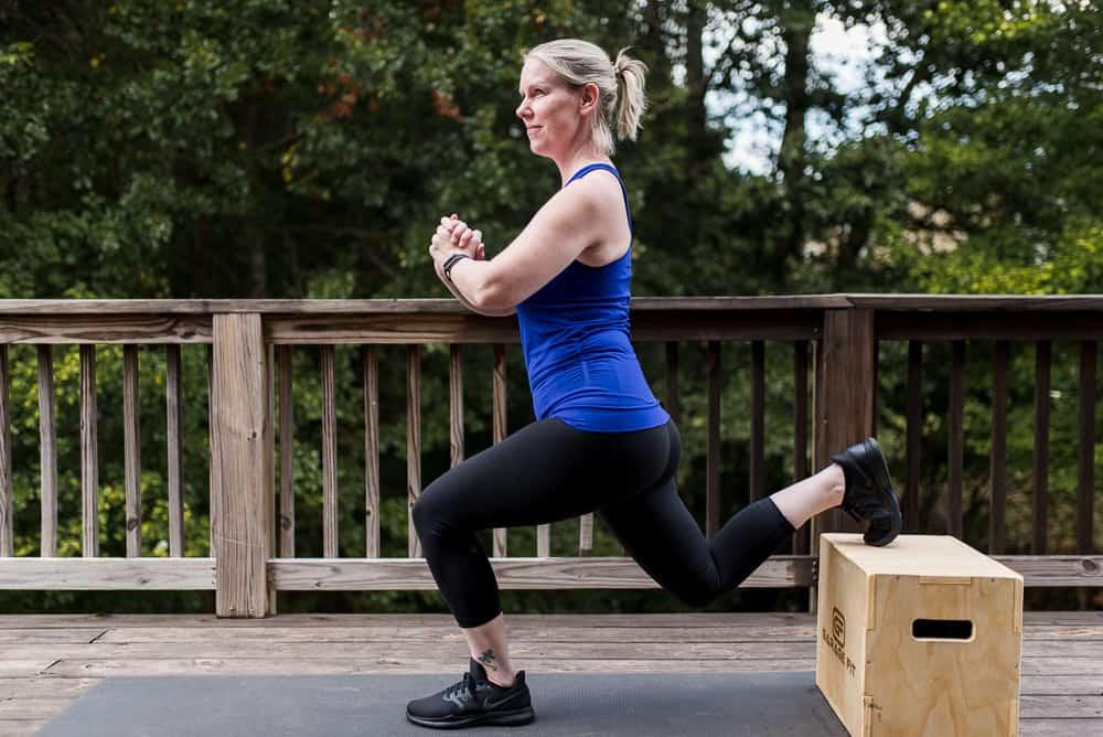 split squat exercise