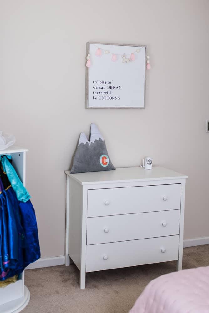 unicorn wall decor little girls bedroom