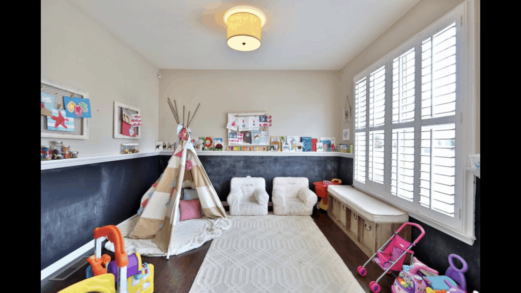 Playroom inspiration for toddlers
