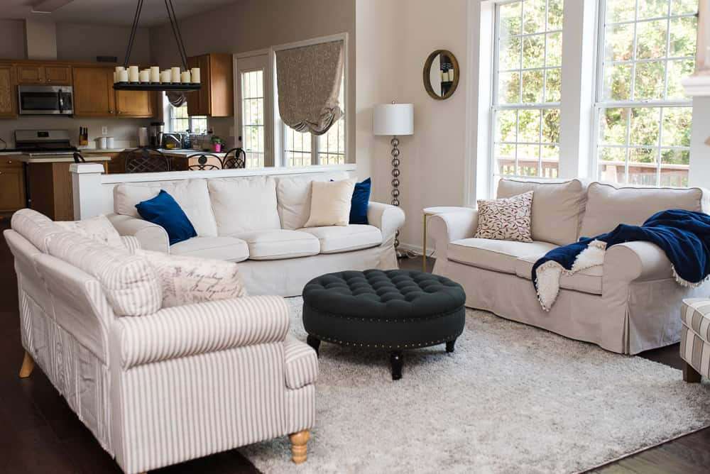 neutral furniture farmhouse style