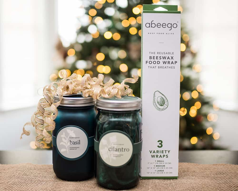UncommonGoods herb jars and beeswax food wrap