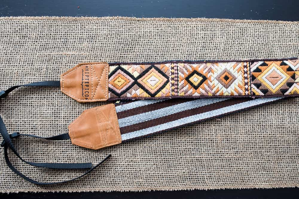 5 Hiptipico camera strap ethically made gift ideas