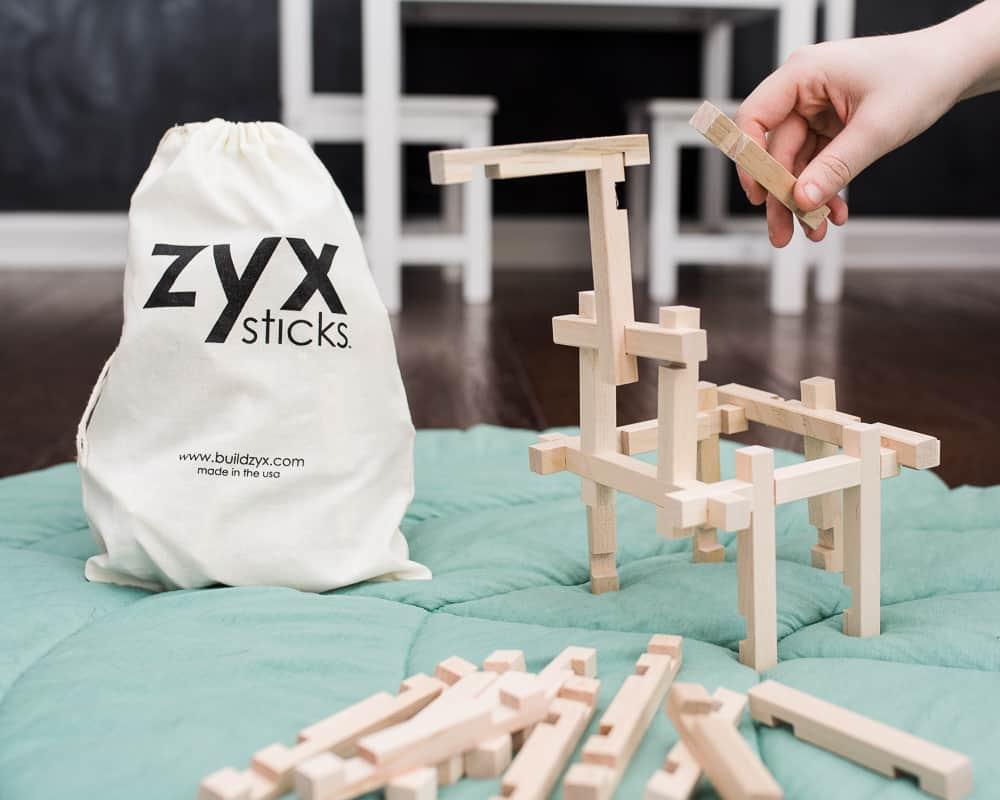 7 ZYX Sticks eco-friendly gift ideas for kids