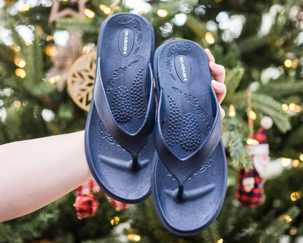 Okabashi flip flops recyclable shoes made in the USA