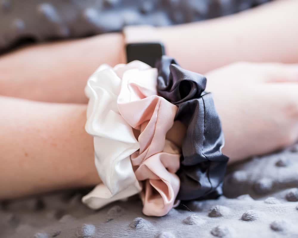 Celestial Silk scrunchies