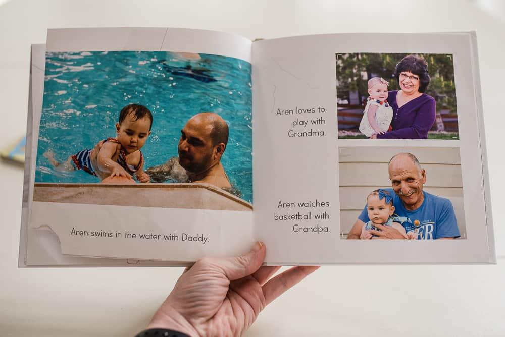 Custom photo books encourage reading