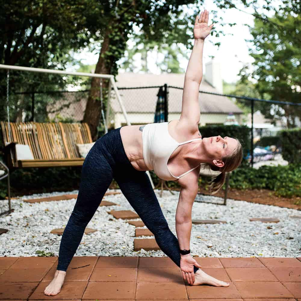 Dealing with Anxiety through yoga and intentional breathing
