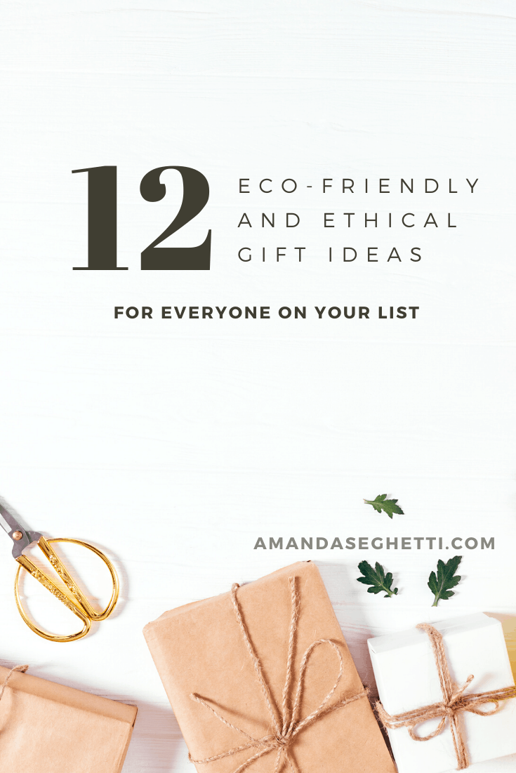 Eco-Friendly Gift Ideas Pin