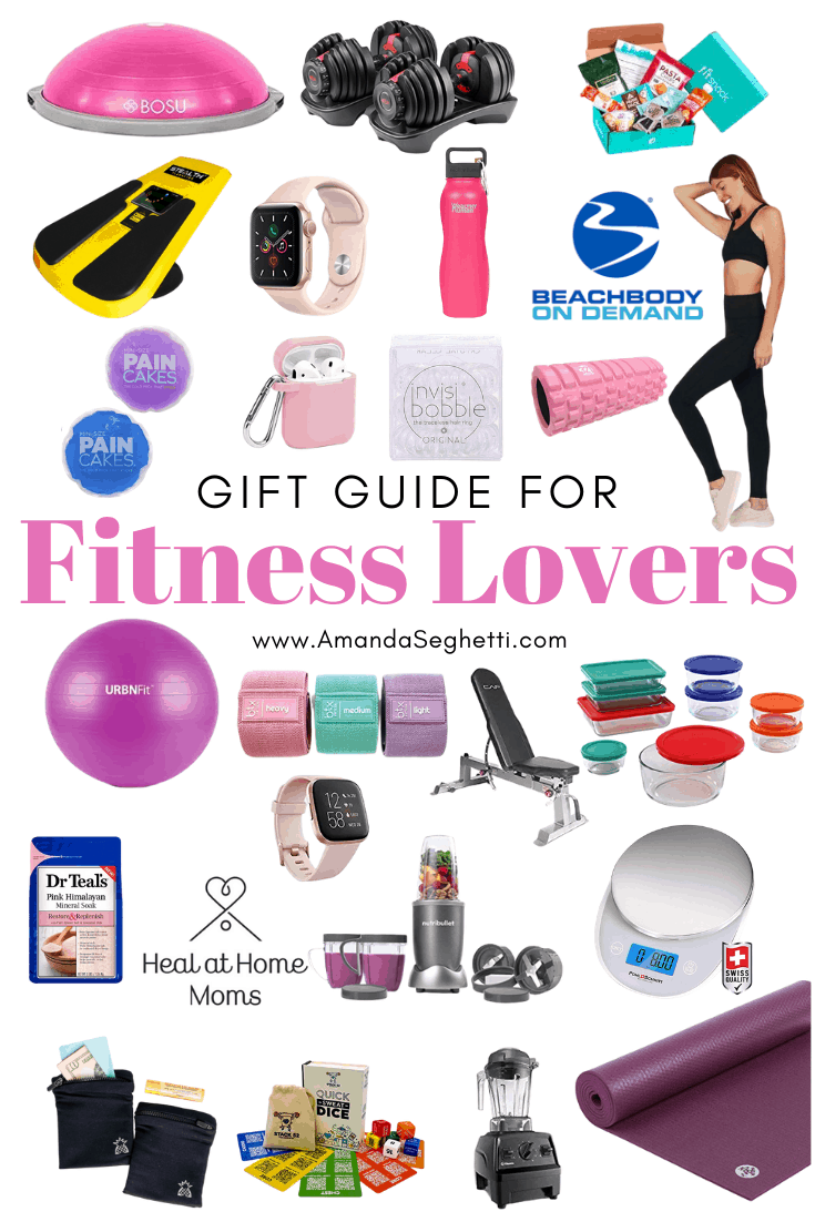 Gift Guide for Fitness Lovers pin