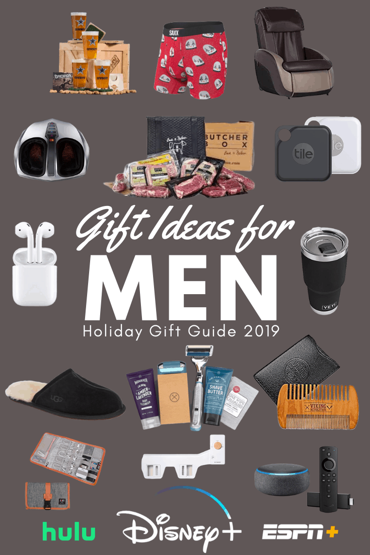 Gift Ideas for Men Pin
