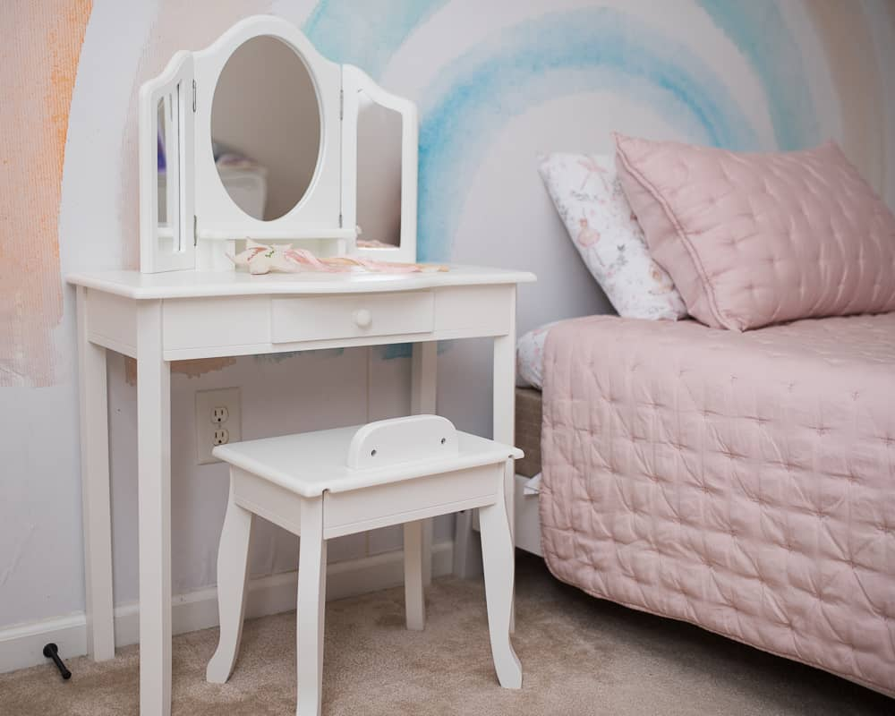 Guidecraft Vanity best non-toy gifts for kids