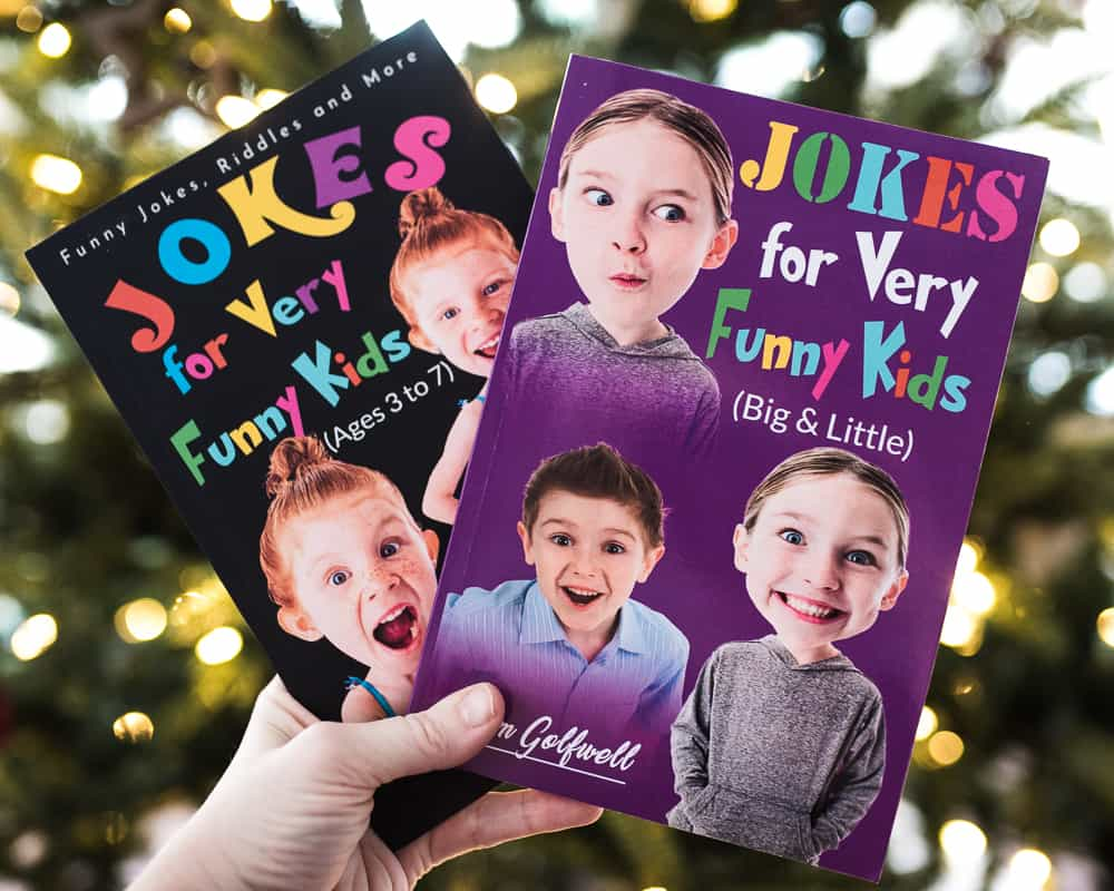 Joke Book best non-toy gifts for kids